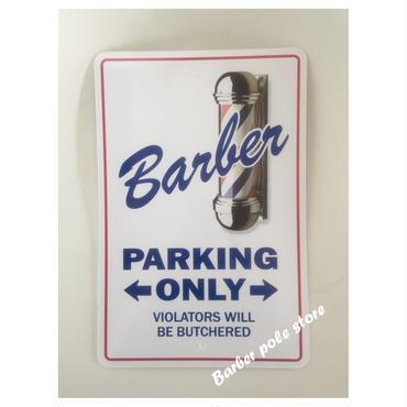 Barber parking only