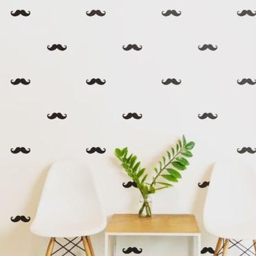 Mustache  steacker 1 sheet