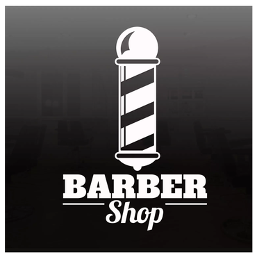 BARBER SHOP  POLE  ステッカー