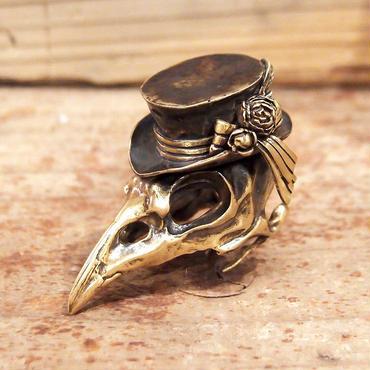 烏堂 帽子烏 リング 真鍮