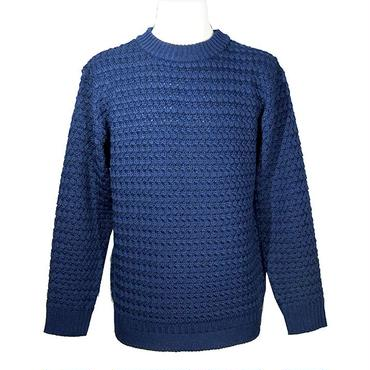 【30%OFF】PHABLIC×KAZUI ファブリックバイカズイ Sports Neck knit スポーツネックニット Navy