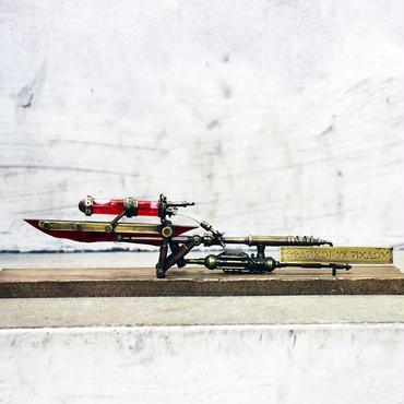 電氣エンドルフィン 契約の刃 スチームパンク オブジェ