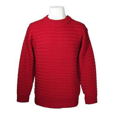 【30%OFF】PHABLIC×KAZUI ファブリックバイカズイ Sports Neck knit スポーツネックニット Red