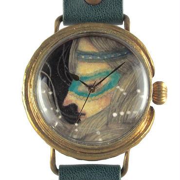 クロノキャンバス アート腕時計「仮面少女の横顔」佐久間 友香 Yuka Sakuma×A STORY TOKYO L 33mm