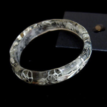 Tomoko Tokuda Steampunk crystal bracelet スチームパンクブレスレット