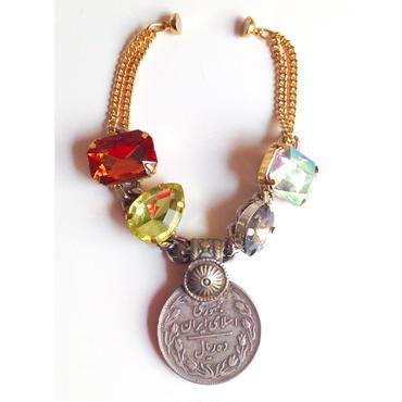 Tribal coin bracelet bijoux Iran トライバル コイン ブレスレット cb-0002
