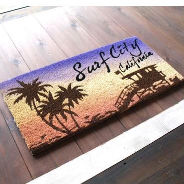 コイヤーマット【Surf City California】