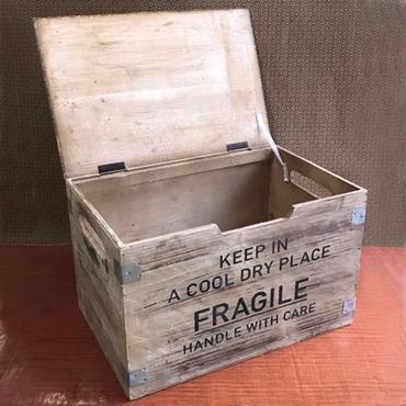 フラジール リッドコンテナ【L】木箱