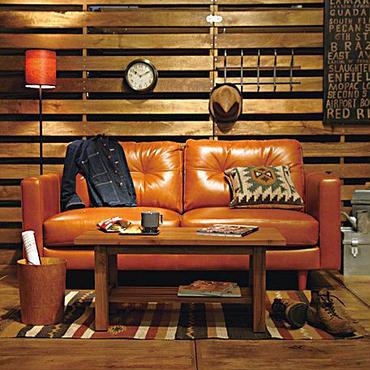 上質なオイルレザーの最高級ソファー <ienowa/3Pクアント>