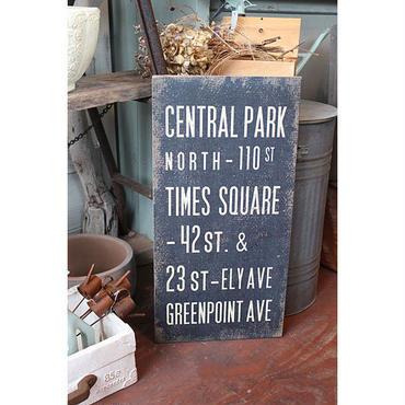 Wood sign board サインボード
