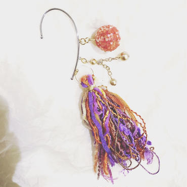 purple tassel ear fook