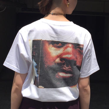 MATCH OKUDA back printed T-shirt