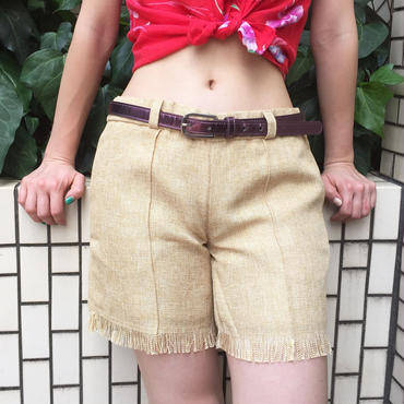 WOTA original Jute Pants natural