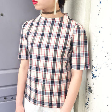 WOTA original Grace Check Top ivory