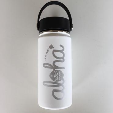 【再入荷】ワウワウレモネード Hydro Flask 日本仕様 ホワイト 16oz ワイドマウス