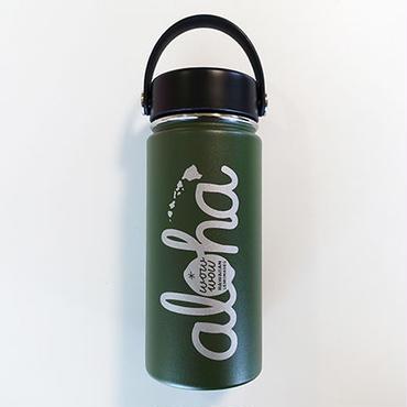 【新色】ワウワウレモネード Hydro Flask 日本仕様 オリーブ 16oz ワイドマウス