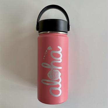 【新色】ワウワウレモネード Hydro Flask 日本仕様 ウォーターメロン 16oz ワイドマウス
