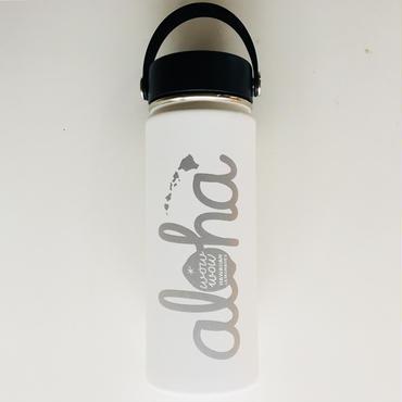 【定番】ワウワウレモネード Hydro Flask 日本仕様 ホワイト 18oz ワイドマウス