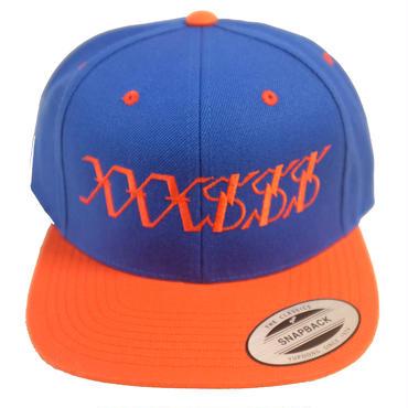 XXXSSS Tokyo Snapback (Blue & Orange)
