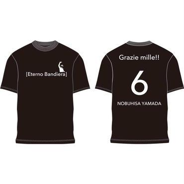 引退試合記念Tシャツ(ブラック)※送料込み
