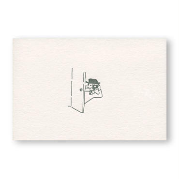 LETTERPRESS CARD 活版カード08
