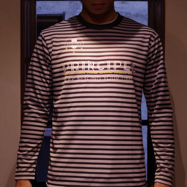 PRINCIPLE Long Sleeve Pra-Shirt [BLK×GRY]