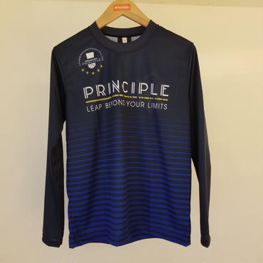 PRINCIPLE2018プラクティスシャツL/S【ネイビー】