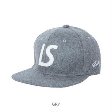 LUZ e SOMBRA LS WOOL FLAT CAP【GRY】