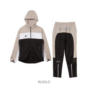 LUZ e SOMBRA STREAM LINE TRAINING JERSEY TOP BOTTOM SET【BRKGLD】