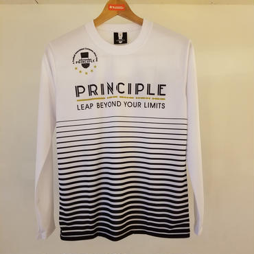 PRINCIPLE2018プラクティスシャツL/S【ホワイト】