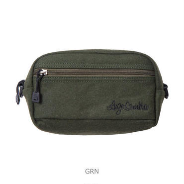 LUZ e SOMBRA WOOL MINI SHOULDER BAG【GRN】