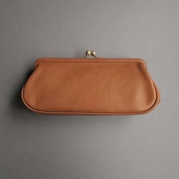 plain gama long wallet (brown)