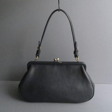 plain gama hand bag (black)