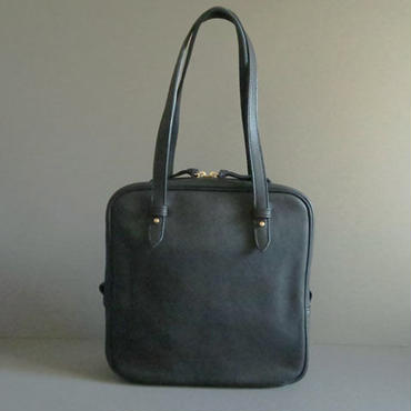 square hand bag (black)