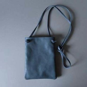 flat shoulder bag (navy)