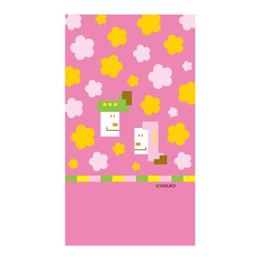 【Doll's Festival】(Pink Ver.) スマホ用壁紙(1080×1920)