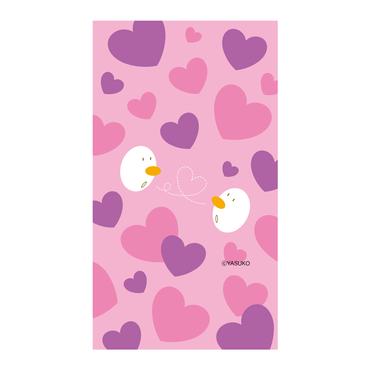 【♡HEART♡】(Purple Ver.)  スマホ用壁紙(1080×1920)