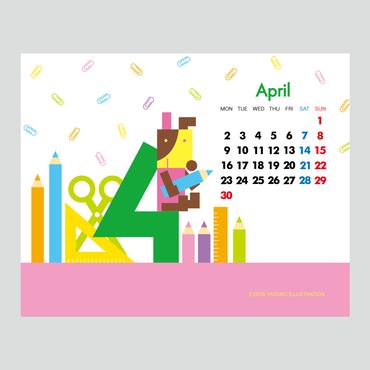 【April 2018】PC用壁紙(1280×1024)