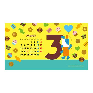 【March 2018】PC用壁紙(1920×1080)