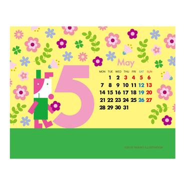 【May 2018】PC用壁紙(1280×1024)