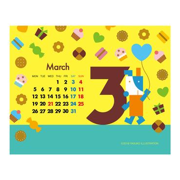 【March 2018】PC用壁紙(1280×1024)