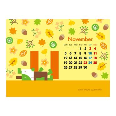 【November 2018】PC用壁紙(1024×768)
