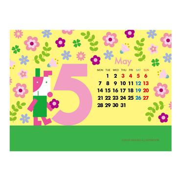 【May 2018】PC用壁紙(1024×768)
