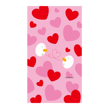 【♡HEART♡】(Red Ver.)  スマホ用壁紙(1080×1920)
