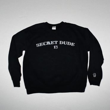 SECRET DUDE 13 Crew neck  Sweat BK
