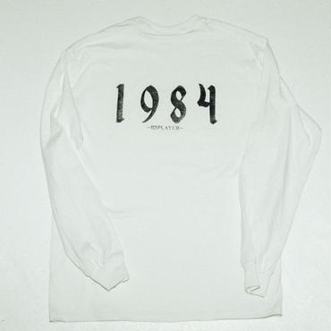 SECRET DUDE  1984 -RIPLAYER-  Long Sleeve  WH