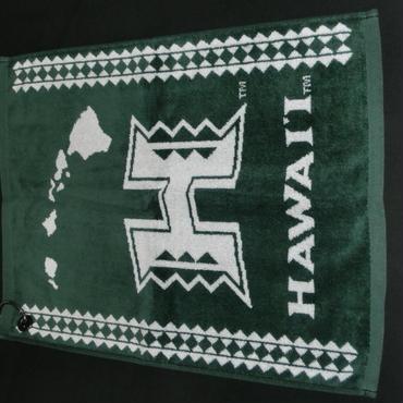 緑・タオル