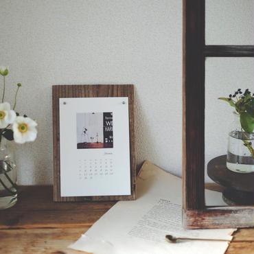 【受注】2108 calendar / 古材台紙付き