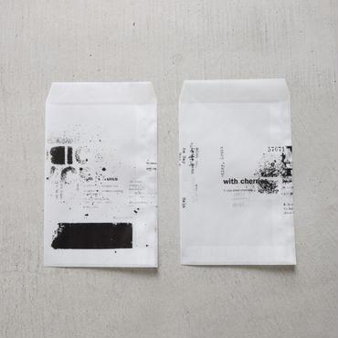 【増量】M-05    グラシンの封筒  青葉