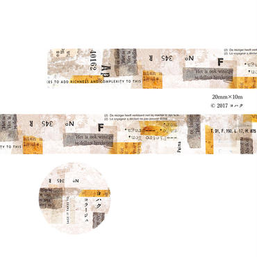 【 pre - order 】original masking tape   コラージュ